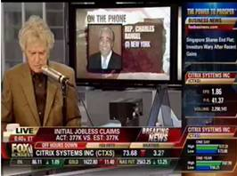 Don Imus with Charlie Rangel today.