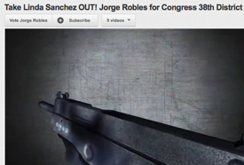 Congressional Candidate Posts Machine Gun Video Vowing To 'Take Linda Sanchez OUT!'