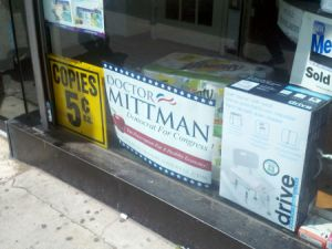 A Mittman campaign sign in Forest Hills, Queen.