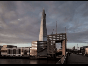 Still from 'The Shard: A Time-Lapse Study' (Courtesy Paul Raftery and Dan Lowe)
