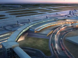 Yesterday, JetBlue unveiled T5i, a new expansion to its terminal at JFK that adds six gates for international flights.