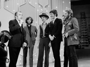 The Band on the Ed Sullivan Show. (CBS Photo Archive)