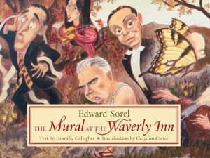 Mr. Sorel's Waverly Inn mural has a book devoted to it. (Courtesy Pantheon)