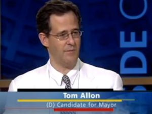 Tom Allon runs for his birthday (NY1)