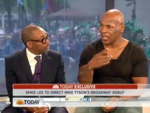 Spike Lee and Mike Tyson on 'Today' (NBC)