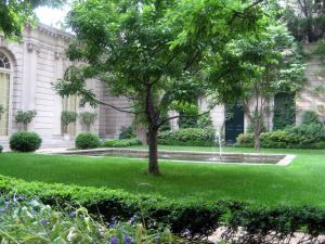 The Russell Page Garden at the Frick.