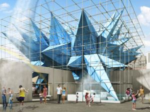 """A rendering of """"Wendy,"""" this summer's YAP installation at MoMA PS1. (Courtesy)"""