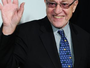 Alan Dershowitz. (Courtesy Getty Images)