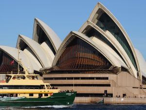 The Sydney Opera House. (Courtesy Greg Wood/AFP/Getty Images)