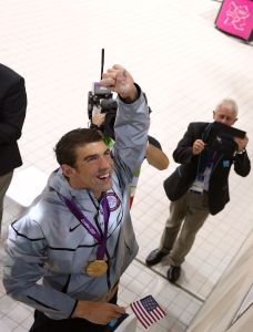 Michael Phelps, world champion (Getty Images)