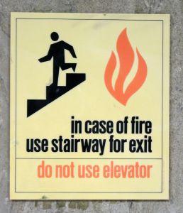 Hence why one shouldn't turn their stairway into a bathroom. (Photo: Flickr, frankfarm)