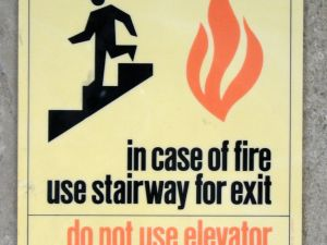 Hence why one shouldn't turn their stairway into a bathroom. (Photo: Flickr, frankfarm)