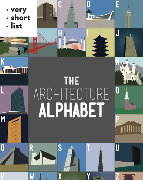 A Gorgeous, Minimalist Alphabet Poster