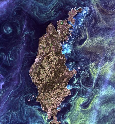 Turn The Earth Into Art With Landsat's Amazing Satellite Viewer