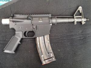 The printed gun (Photo: AR15)