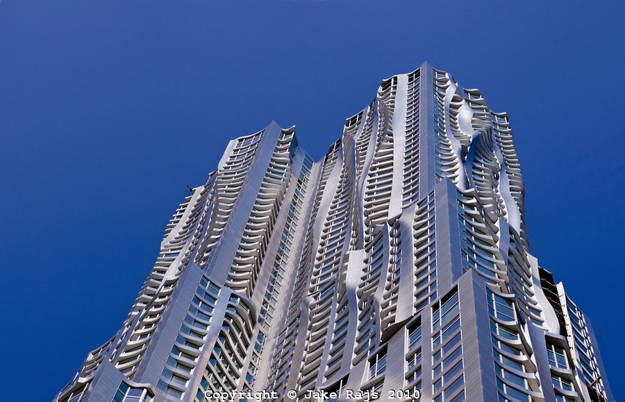 It Takes Up to Nine Months to Clean Frank Gehry's Wavy Spruce Street Apartment Tower