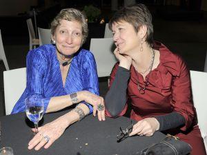 Susana Tourrella Leval, Dorothy Kosinski. (Courtesy Patrick McMullan Company)