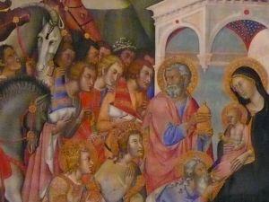 'The Adoration of the Magi' (ca. 1375-1385) by Bartolo di Fredi. (Courtesy the Museum of Biblical Art)