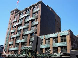 The hotel will be built, Tetris-like, around the existing building.