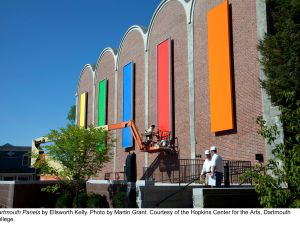 Ellsworth Kelly, 'Dartmouth Panels,' 2012. (Photo by Martin Grant. Courtesy of the Hopkins Center for the Arts, Dartmouth College)