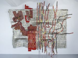 El Anatsui, 'Afor,' 2010. (Courtesy Jack Shainman Gallery and Artnet)