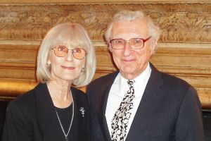 Lyricist Sheldon Harnick and his wife, photographer Margery Grey