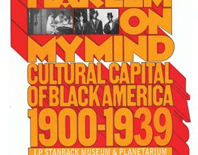 A poster for an exhibition about 'Harlem on My Mind' at South Carolina State University. (Courtesy SCSU)