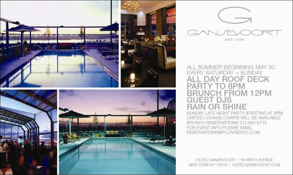 Gansevoort Hotel Turns It Down A Notch As City Investigates Pool Parties