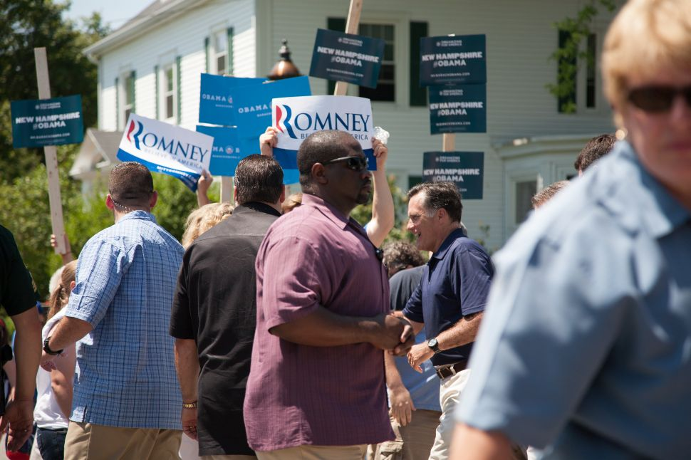 Romney And Obama Supporters Clash at July 4th Parade