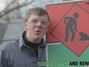 James O'Keefe posing as a government contractor in his new video. (Photo: YouTube)