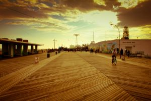 A new dawn for the old boardwalk? (Kevin Richardson/Save Coney Island)