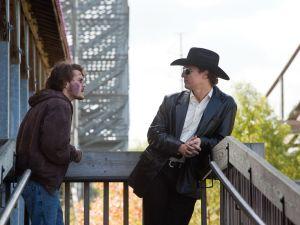 Hirsch and McConaughey in Killer Joe.