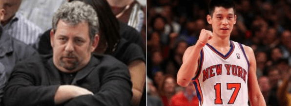 Jeremy Lin vs. James Dolan: Whose Side To Take in War of Words?