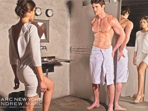 """Marc New York's """"Fifty Shades of Grey""""-inspired ad (Marc)"""