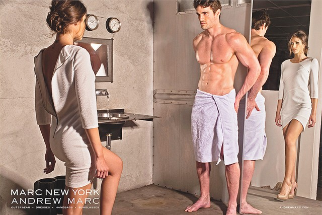 Marc New York's Extremely Subtle <em>50 Shades of Grey</em> Ad Campaign