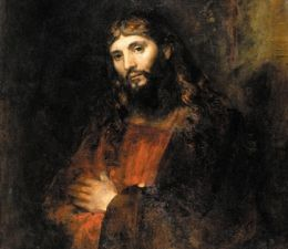 Rembrandt's 'Christ with Arms Folded,' ca. 1657-1661, at at the Hyde. (Courtesy Hyde Collection)