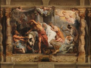 'Triumph of the Eucharist over Idolatry, Peter Paul Rubens' (1625-6) by Rubens. (Courtesy the Prado)