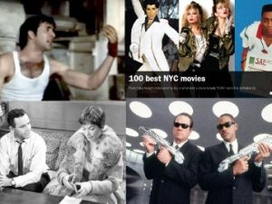 Moonstruck, Time Out, Men in Black, and The Apartment