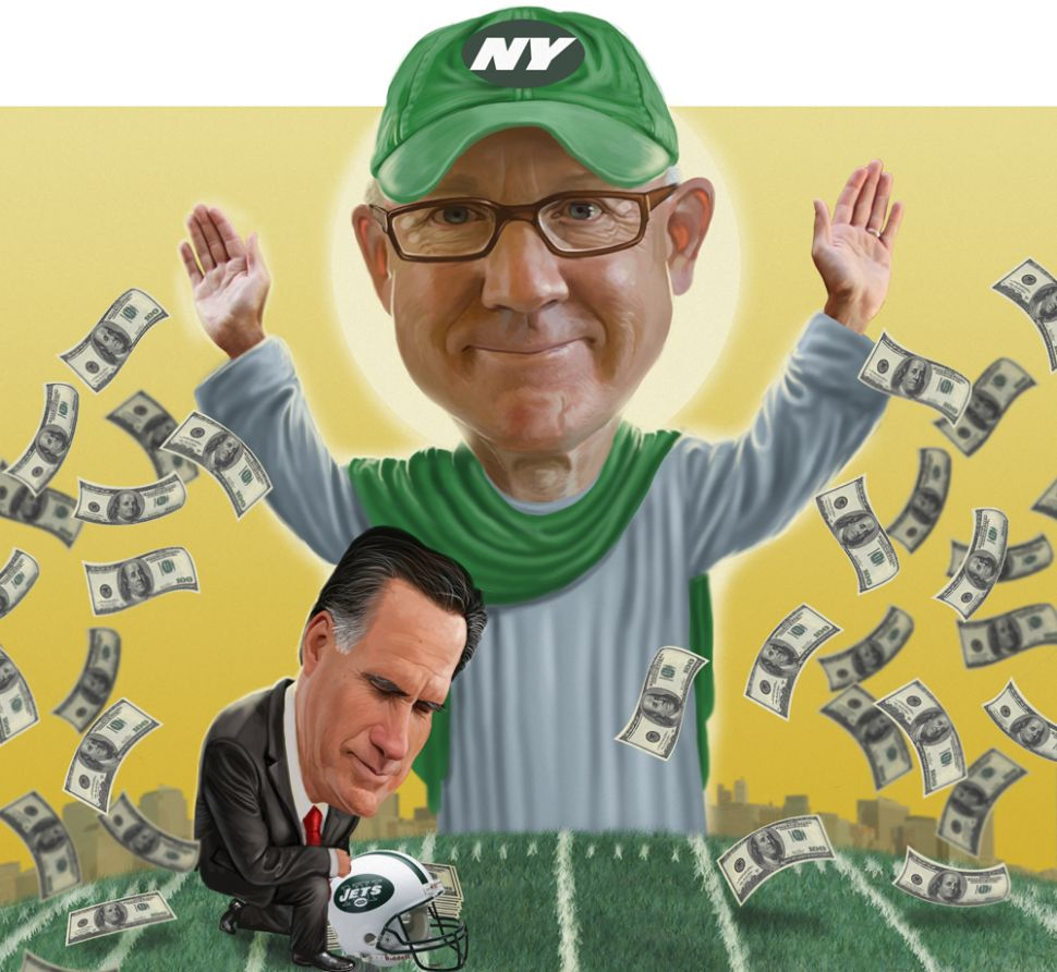 Jets Owner Is More Worried About Mitt Romney Than His Football Team