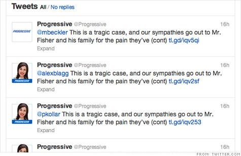 Update: Progressive Auto-Tweets to 'Killer' Claim, Matt Fisher Shoots Back