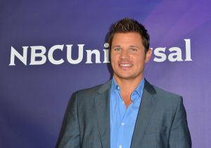 Nick Lachey enjoys life during wartime (Getty Images)