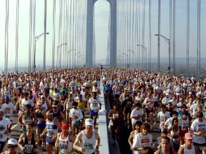 Runners must now carry belongings with them at all times (Getty Images)