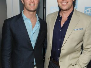 Thomas Roberts (right), with betrothed Patrick Abner. (Patrick McMullan)