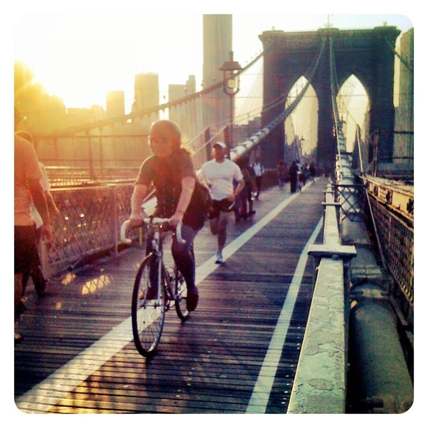 Bridge Over Troubled Walkways: Council Members Want Wider Brooklyn Bridge Crossing for Bikes, Peds