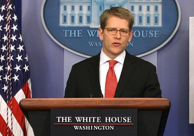 White House Accidentally Confuses Jay Carney With Michelle Obama