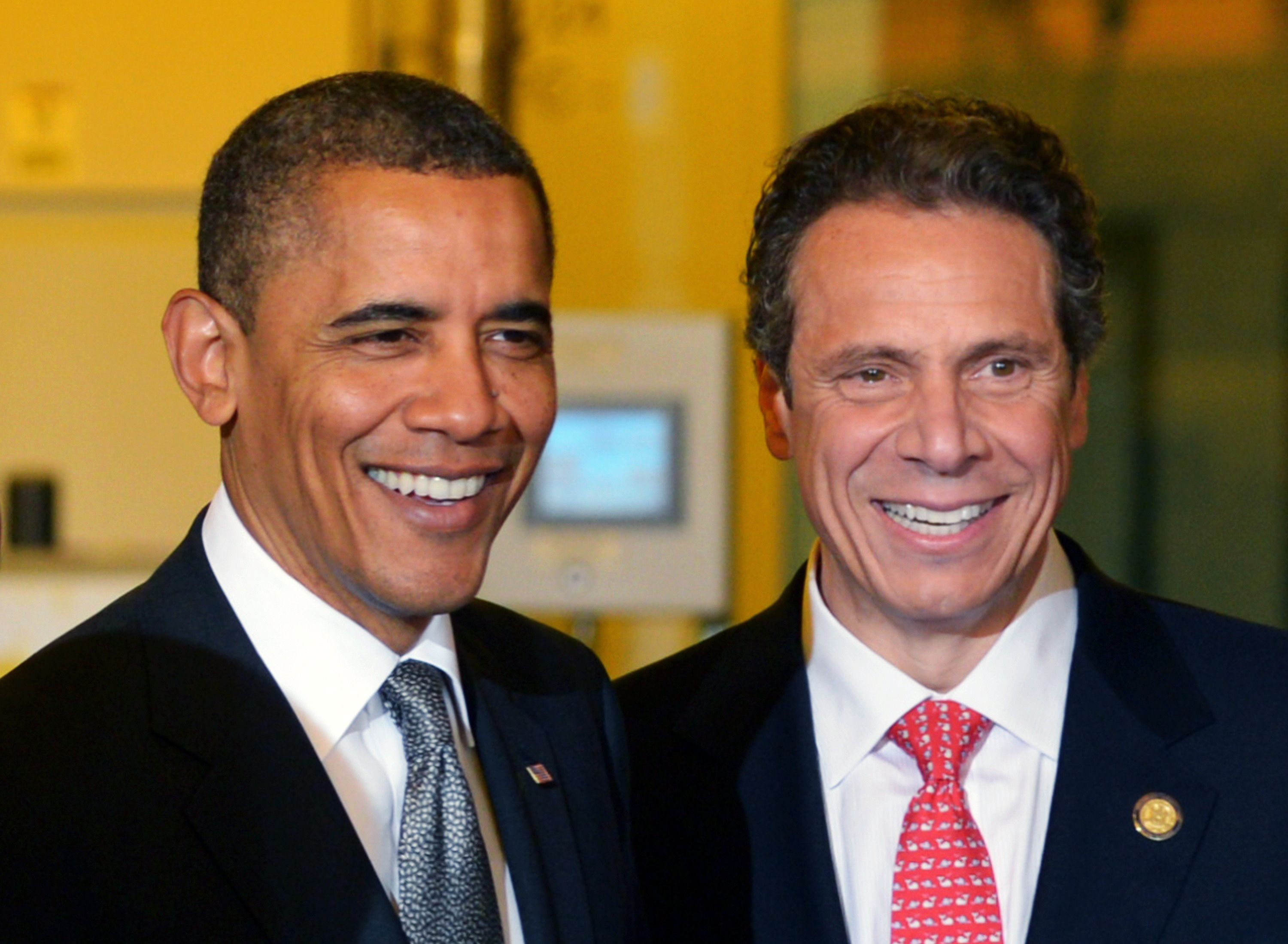Image result for andrew cuomo and obama pics