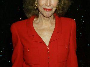 Helen Gurley Brown in 2001 (Getty).
