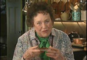 Julia Childs, master chef (PBS)