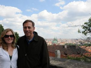 David Petraeus and his daughter, Anne, together in the Czech Republic. (Photo: Czech-Anne-Out.blogspot.com)