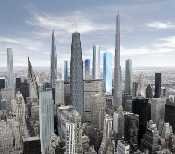 Another Look at the Quite Possibly Insane Midtown Skyline of the Future